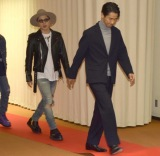 『第69回NHK紅白歌合戦』のリハーサルに参加した(左から)登坂広臣、小林直己 (C)ORICON NewS inc.