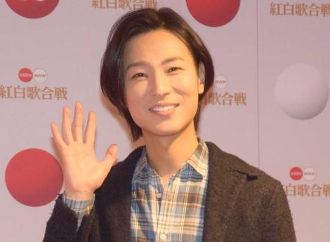 『第69回NHK紅白歌合戦』のリハーサルに参加した山内惠介 (C)ORICON NewS inc.