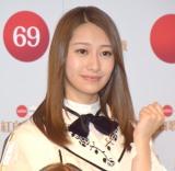 『第69回NHK紅白歌合戦』のリハーサルに参加した乃木坂46・桜井玲香 (C)ORICON NewS inc.