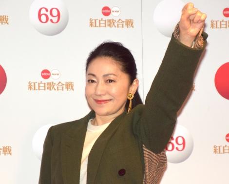 『第69回NHK紅白歌合戦』のリハーサルに参加した石川さゆり(C)ORICON NewS inc.