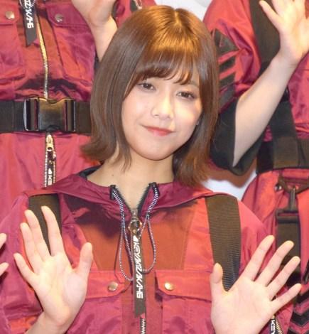 『第69回NHK紅白歌合戦』のリハーサルに参加した欅坂46・渡邉理佐 (C)ORICON NewS inc.