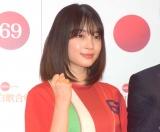 『第69回NHK紅白歌合戦』のリハーサルに参加した広瀬すず(C)ORICON NewS inc.