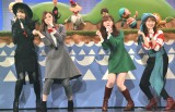 『第69回NHK紅白歌合戦』で行われる「夢のキッズショー」のリハーサルに参加した(左から)柏木由紀、白石麻衣、指原莉乃、生田絵梨花 (C)ORICON NewS inc.