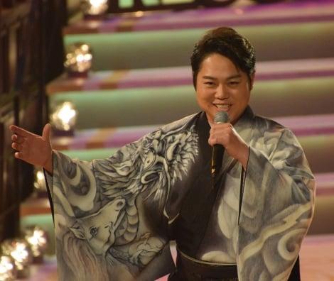 「いごっそ魂」を披露した三山ひろし=『第60回日本レコード大賞』 (C)ORICON NewS inc.