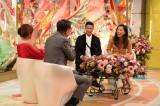 『新婚さんいらっしゃい!美人モデルSP』に出演する高橋ユウ&卜部弘嵩夫妻(C)ABC