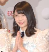 『第69回NHK紅白歌合戦』のリハーサルに参加したAKB48・横山由依 (C)ORICON NewS inc.