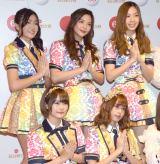 『第69回NHK紅白歌合戦』のリハーサルに参加したBNK48(前列左から)ミュージック、モバイル、(後列左から)ジェニス、オーン、パン (C)ORICON NewS inc.