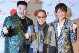 『第69回NHK紅白歌合戦』に出場した(左から)大江裕、北島三郎、北山たけし (C)ORICON NewS inc.