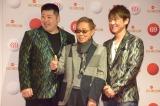 『第69回NHK紅白歌合戦』のリハーサルに参加した(左から)大江裕、北島三郎、北山たけし (C)ORICON NewS inc.