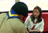 【ガキ使大みそか】川口春奈、スケバン役で大暴れ 松本人志に「大スベリ親バカ芸人」
