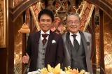格付けマスターを務める浜田雅功(左)、伊東四朗(右)(C)ABC