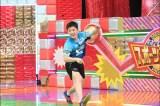 15歳の張本智和が卓球対決に初参戦(C)テレビ朝日