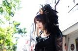 不思議な力を持つミステリアスな少女エリカ(奥仲麻琴)(C)東映特撮ファンクラブ