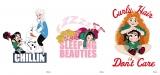 プリンセスの私服ビジュアル(左から)エルサ/オーロラ姫/メリダ=ディズニー・アニメーション映画『シュガー・ラッシュ:オンライン』(公開中)(C)2019 Disney. All Rights Reserved