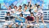 『第69回NHK紅白歌合戦』の企画コーナーでパフォーマンスしたAqours (C)ORICON NewS inc.