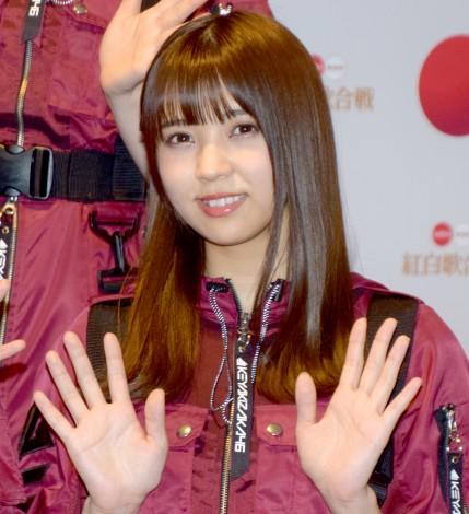 「ガラスを割れ!」でセンターを務めた欅坂46・小林由依 (C)ORICON NewS inc.
