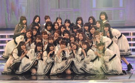 『第69回NHK紅白歌合戦』に出場した乃木坂46 (C)ORICON NewS inc.