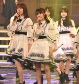 『第69回NHK紅白歌合戦』のリハーサルに参加した乃木坂46・与田祐希(中央) (C)ORICON NewS inc.
