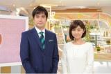 『羽鳥慎一モーニングショー』(左から)羽鳥慎一キャスター、宇賀なつみアナウンサー(C)テレビ朝日