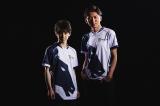 日本人プロ格闘ゲーマーの(左から)竹内ジョン選手、ネモ選手