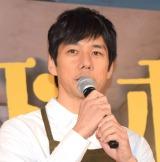 TBS系連続ドラマ『メゾン・ド・ポリス』舞台あいさつに出席した西島秀俊 (C)ORICON NewS inc.