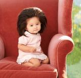 """髪の毛がふさふさの""""爆毛赤ちゃん""""として話題の「babychanco(ベイビーチャンコ)」"""