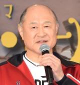 TBS系連続ドラマ『メゾン・ド・ポリス』舞台あいさつに出席した角野卓造 (C)ORICON NewS inc.