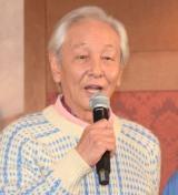 TBS系連続ドラマ『メゾン・ド・ポリス』舞台あいさつに出席した近藤正臣 (C)ORICON NewS inc.