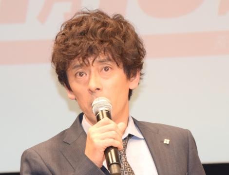 TBS系日曜劇場『グッドワイフ』舞台あいさつに出席した滝藤賢一 (C)ORICON NewS inc.