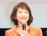 TBS系日曜劇場『グッドワイフ』舞台あいさつに出席した賀来千賀子 (C)ORICON NewS inc.