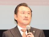 TBS系日曜劇場『グッドワイフ』舞台あいさつに出席した吉田鋼太郎 (C)ORICON NewS inc.