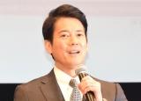 TBS系日曜劇場『グッドワイフ』舞台あいさつに出席した唐沢寿明 (C)ORICON NewS inc.