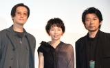 (左から)井浦新、菜葉菜、永瀬正敏 (C)ORICON NewS inc.