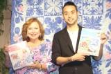 ハワイのうんちくを語った(左から)キャシー中島、勝野洋輔 (C)ORICON NewS inc.