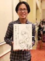 『進撃の巨人』作者・諫山創氏(写真提供、『週刊少年マガジン』公式より)