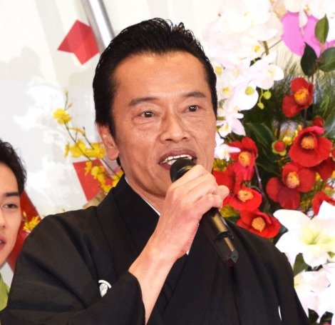 ドラマ『私のおじさん〜WATAOJI〜』制作発表会見に出席した遠藤憲一 (C)ORICON NewS inc.