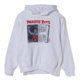Beastie Boys×FACT.コラボ「CASSETTE HOODIE」WHITE¥17,000