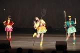 『西遊記』パロディーの寸劇=『HKT48フレッシュメンバーコンサートin博多座〜未来は、私たちの目の前に…〜』初日(C)AKS