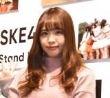 『ちゅりかめら展 in WONDER PHOTO SHOP』囲み取材に出席した松村香織 (C)ORICON NewS inc.