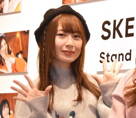 『ちゅりかめら展 in WONDER PHOTO SHOP』囲み取材に出席した高柳明音 (C)ORICON NewS inc.