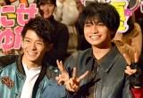 King & Prince・岸優太(左)をイジり倒したSexy Zone・中島健人(C)ORICON NewS inc.