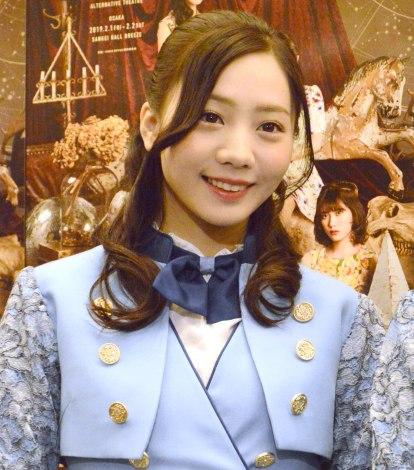 舞台『GIRLS REVUE』ゲネプロ前囲み取材に出席した能條愛未 (C)ORICON NewS inc.