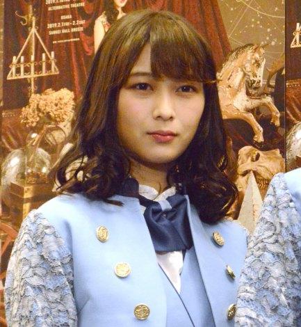 舞台『GIRLS REVUE』ゲネプロ前囲み取材に出席した乃木坂46・鈴木絢音 (C)ORICON NewS inc.