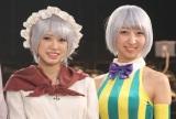 お泊りする仲の(左から)大西桃香、飯田里穂 (C)ORICON NewS inc.