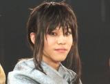 舞台劇『からくりサーカス』の取材会に出席した三浦海里 (C)ORICON NewS inc.