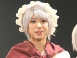 舞台劇『からくりサーカス』の取材会に出席した大西桃香 (C)ORICON NewS inc.