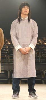 舞台劇『からくりサーカス』の取材会に出席した滝川広大 (C)ORICON NewS inc.