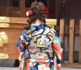 エイベックス・マネジメント新春晴れ着撮影会に出席した川栄李奈 (C)ORICON NewS inc.