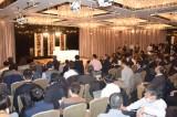 吉田沙保里さんの引退会見には多くの報道陣 (C)ORICON NewS inc.