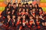 『SKEBINGO!ガチでお芝居やらせて頂きます!』(毎週月曜 深夜1:29)の収録後囲み取材に出席したSKE48 (C)ORICON NewS inc.